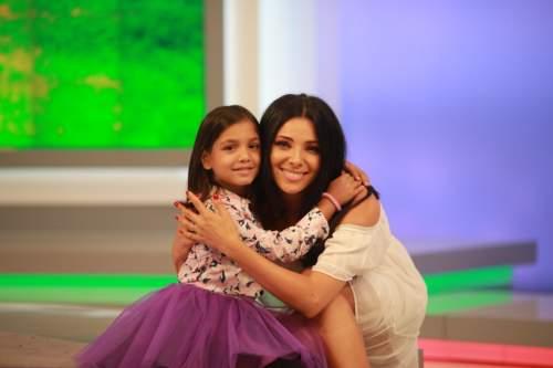 Corina Caragea a spus Prezent în campania SOS Satele Copiilor