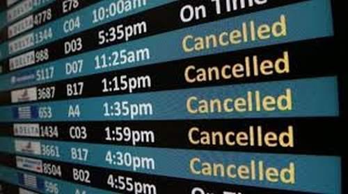 Drepturile pasagerilor cand zborurile sunt anulate curse aeriene anulate