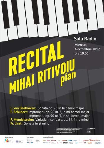 #Recital de Pian | Mihai Ritivoiu