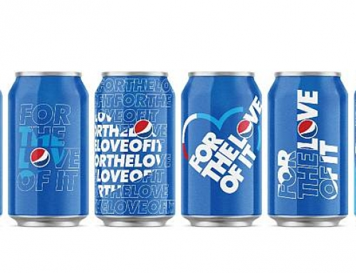 Pepsi propune un nou slogan internațional pentru brandul său – FOR THE LOVE OF IT