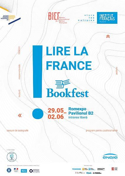 "Institutul Francez: Franța revine la Bookfest, standul ""Lire la France"""