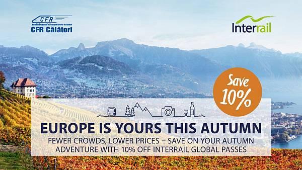 Interrail Global Pass by cfr