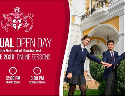 British School of Bucharest se adaptează și organizează în premieră VIRTUAL OPEN DAY