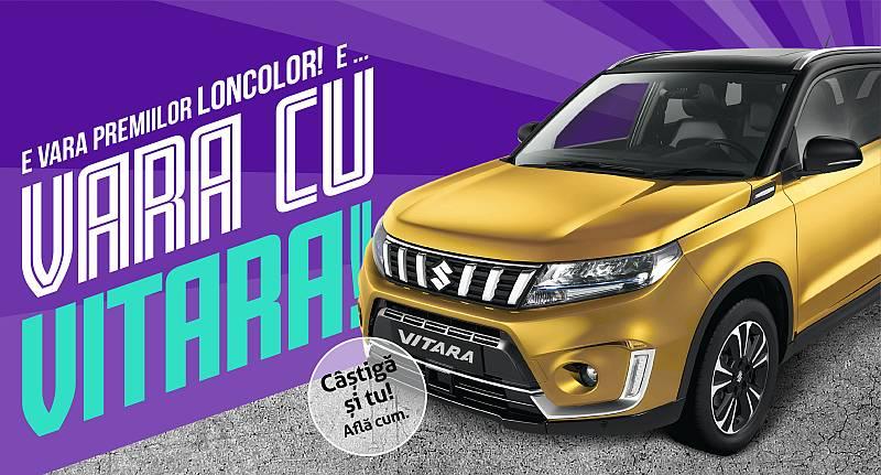 Campania de vara LONCOLOR: 1000 de premii instant si o masina Suzuki Vitara