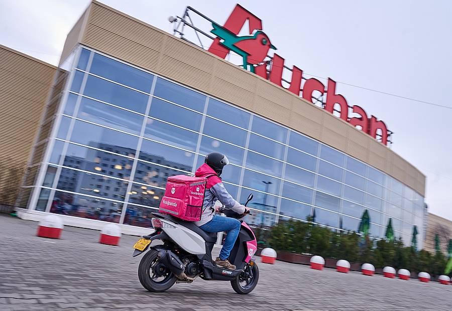 foodpanda & Auchan