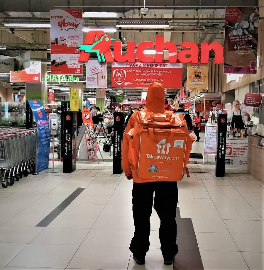 Auchan x Takeaway