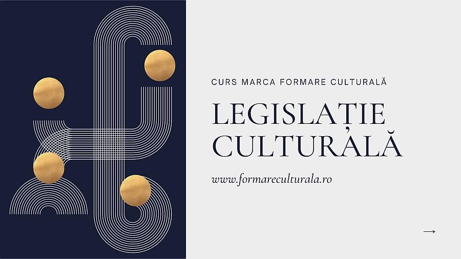 cover Legislatie culturala