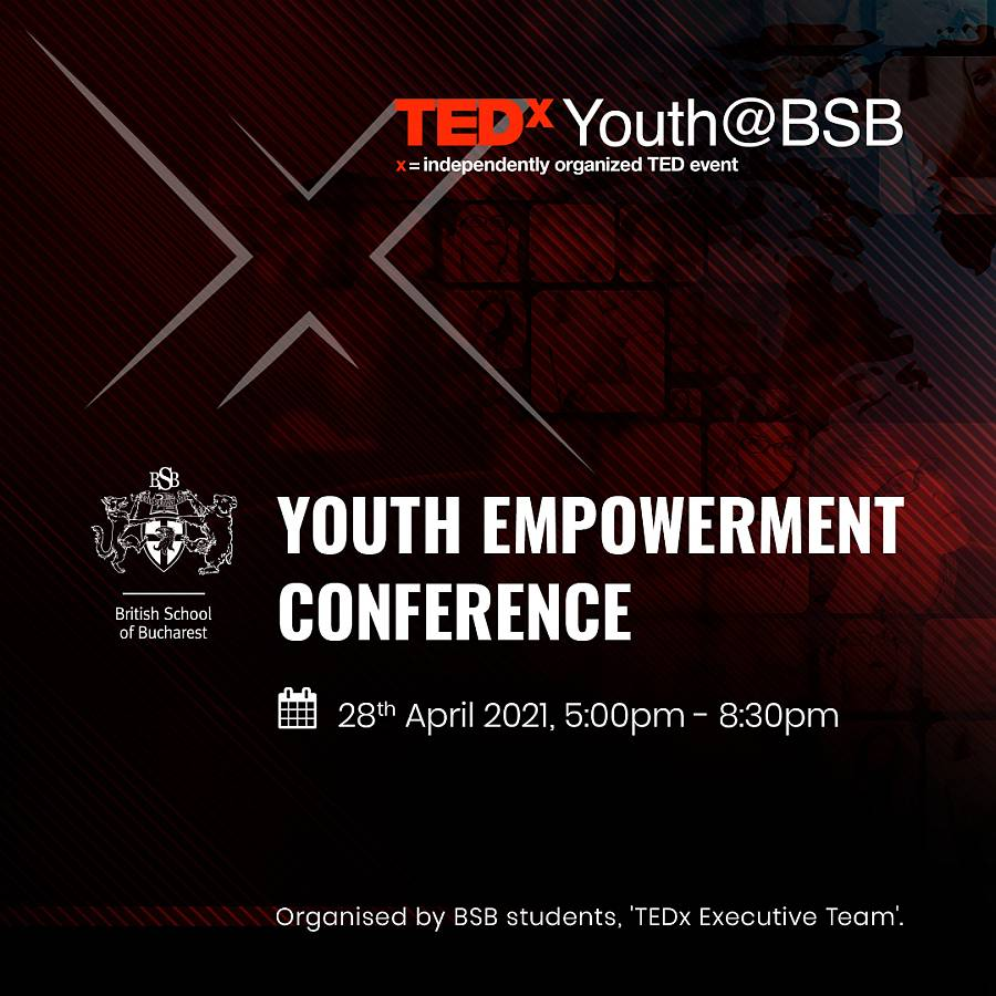 British School of Bucharest găzduiește prima ediție TEDx Youth@BSB