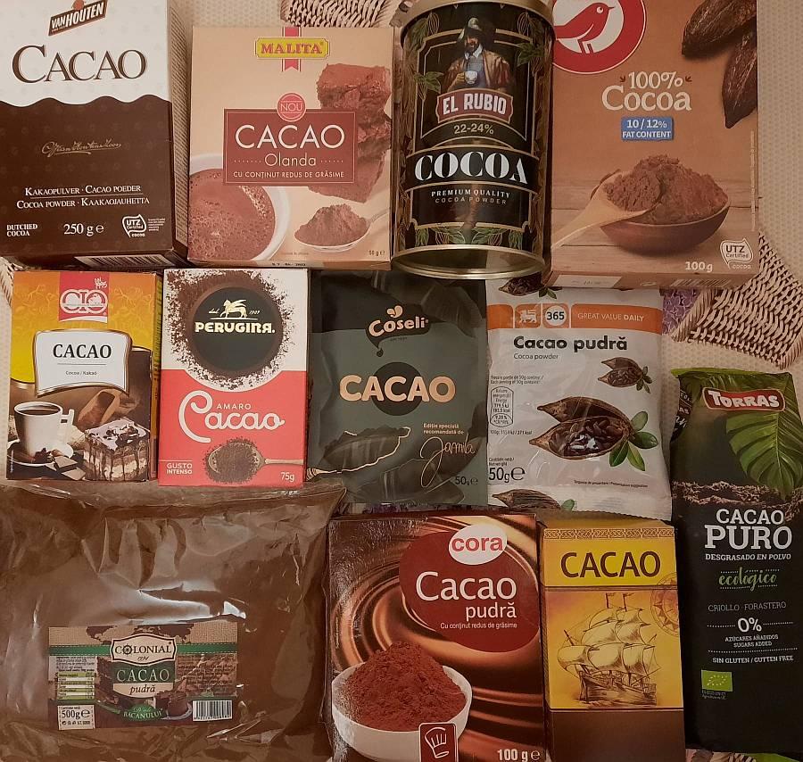 Asociația Pro Consumatori (APC) Pudră de cacao cu sodă caustică!