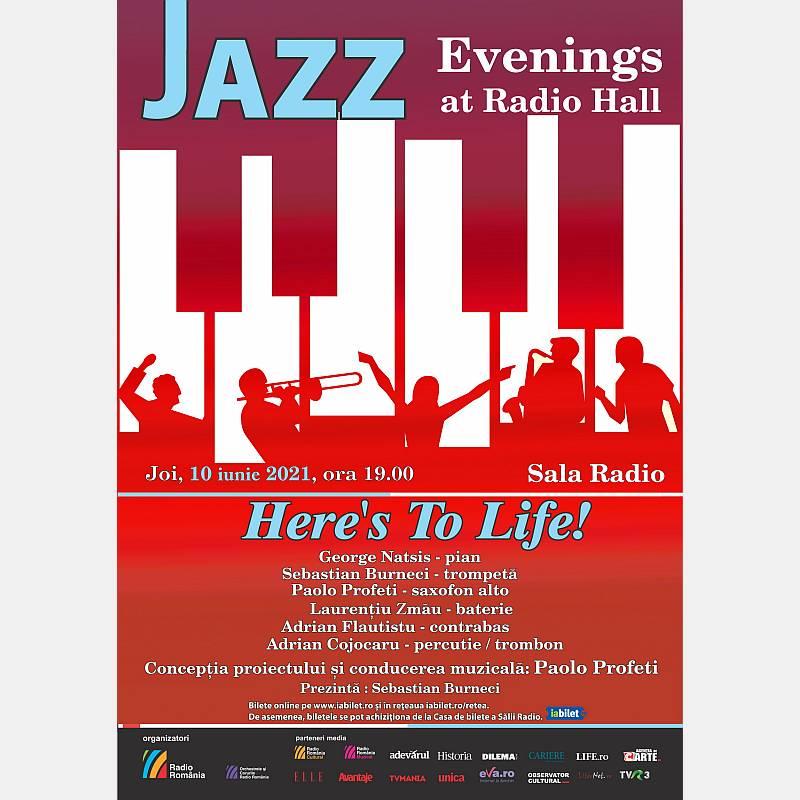 Afis jazz 10 iunie 2021 Sala Radio