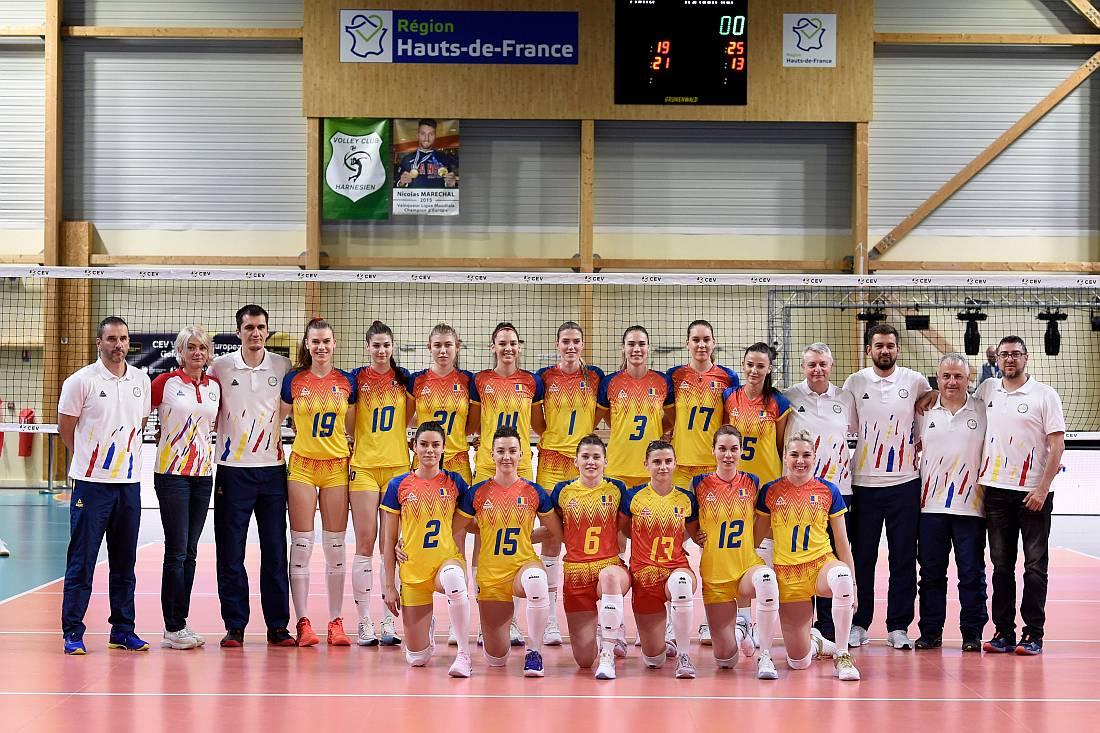 Nationala Romania - FOTO CEV