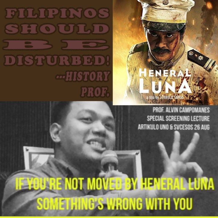HISTORY PROF: FILIPINOS SHOULD BE DISTURBED!