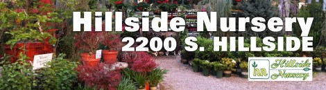 Hillside Nursery Ad