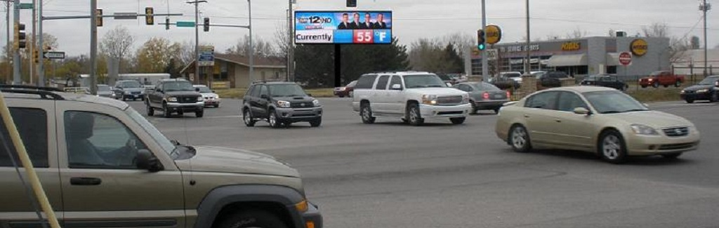 Digital Billboard Signage available at 11th & Lorraine (east face) in Hutchinson, KS