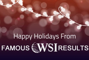 Happy Holidays from Famous WSI Results of Delaware