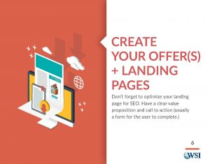 Create your offers and landing pages
