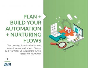 Plan and Build your Automation and Nurturing Flows