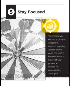 5 Ways to gain an edge on your competition- Stay Focused