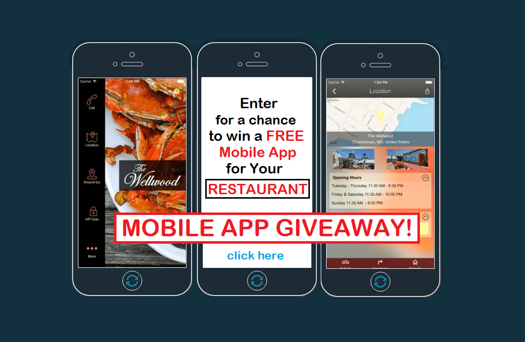 Enter to Win a FREE Mobile App for Your Restaurant