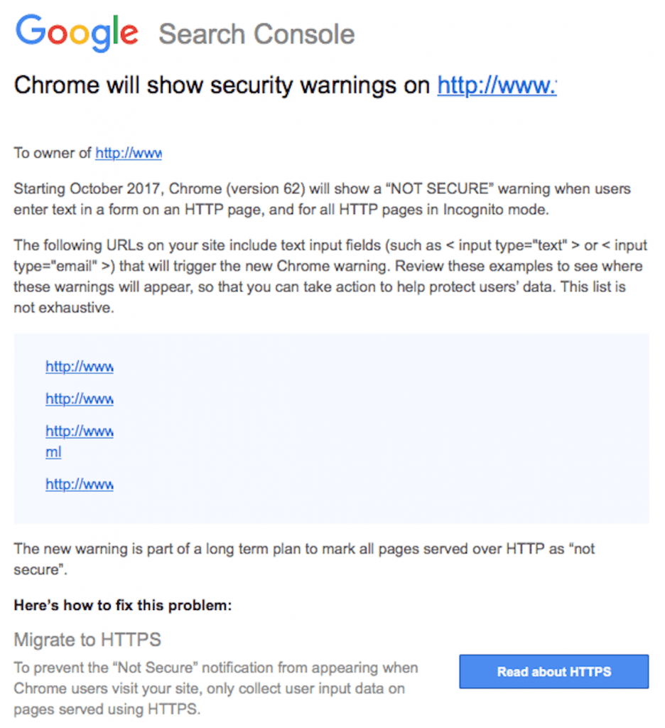 What You Need To Know About Security Warnings in Google Chrome