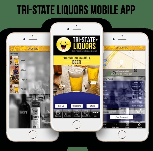 Tri-State Liquors Mobile App