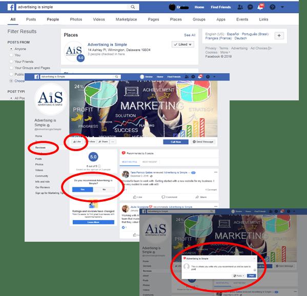 facebook instructions_AIS