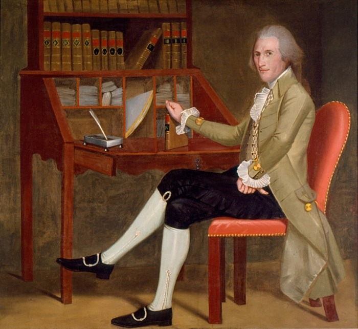 May 5 - Earl Portrait of David Baldwin