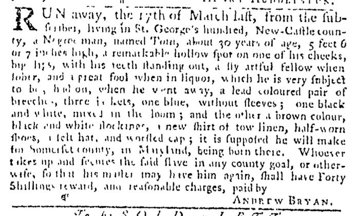 Apr 2 - Pennsylvania Gazette Slavery 3