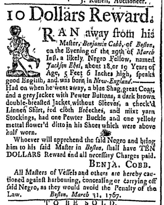 Mar 30 - Boston Post-Boy Slavery 1