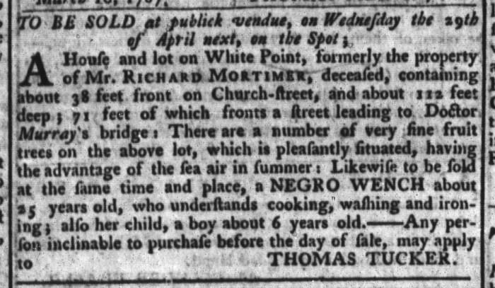 Mar 31 - South-Carolina Gazette and Country Journal Slavery 10