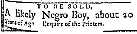 Apr 20 - Boston Evening-Post Slavery 2