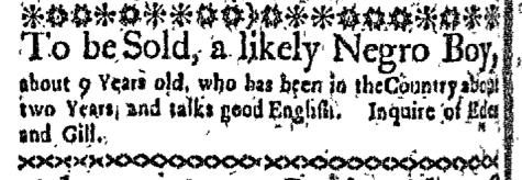 Apr 27 - Boston-Gazette Slavery 1