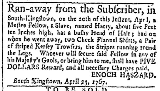 Apr 27 - Newport Mercury Slavery 1