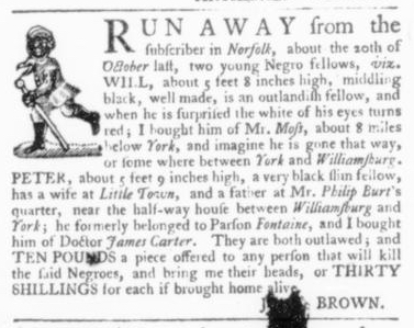 Apr 30 - Virginia Gazette Slavery 6