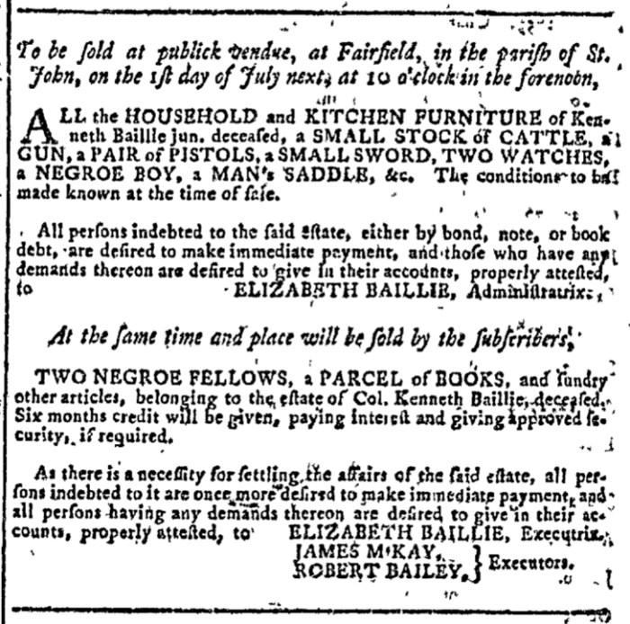 Jun 10 - Georgia Gazette Slavery 4
