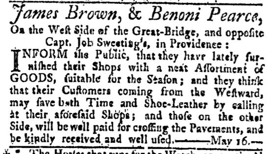 May 16 - 5:16:1767 Providence Gazette