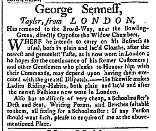 May 18 - 5:18:1767 New-York Gazette