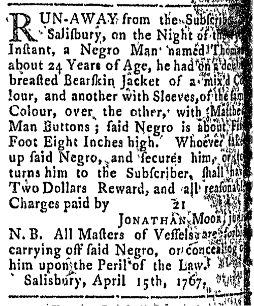 May 18 - Connecticut Courant Slavery 1