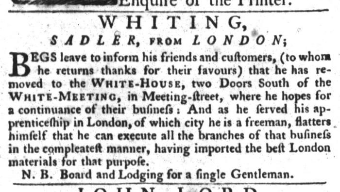 May 19 - 5:19:1767 South-Carolina Gazette and Country Journal