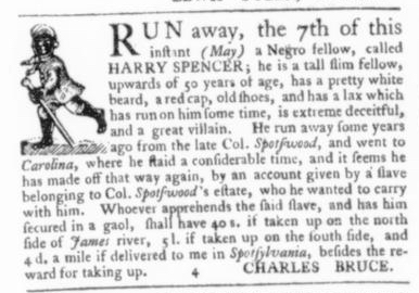 May 21 - Virginia Gazette Slavery 1