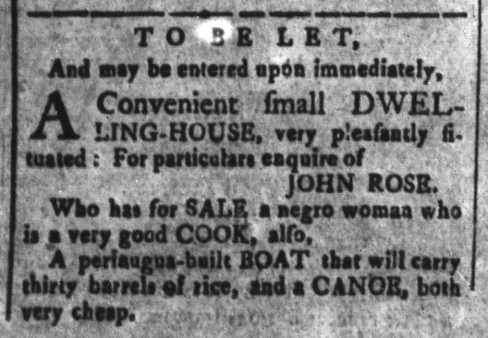May 22 - South-Carolina and American General Gazette Slavery 12