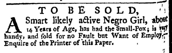 May 28 - New-York Gazette Weekly Post-Boy Slavery 2