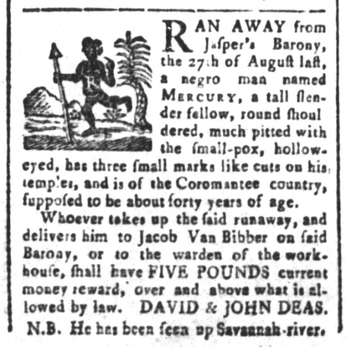 May 29 - South-Carolina and American General Gazette Slavery 2