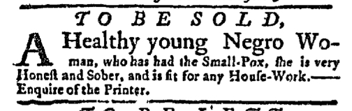 Jul 13 - New-York Gazette Slavery 3
