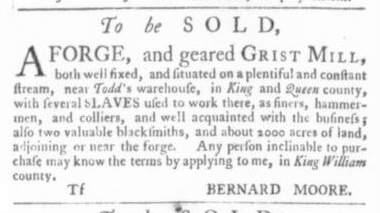 Jul 2 - Virginia Gazette Slavery 5