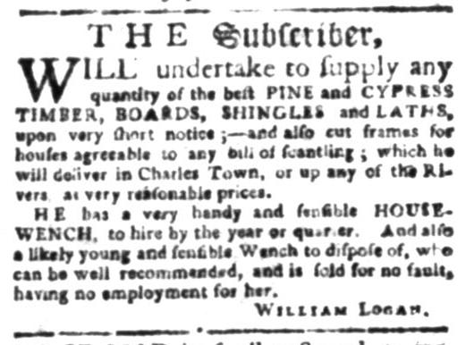 Jul 20 - South Carolina Gazette Slavery 3