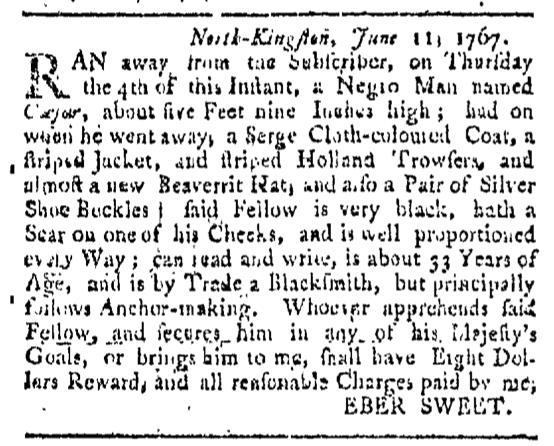 Jul 4 - 7:4:1767 Providence Gazette