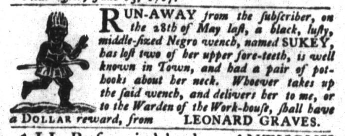 Jun 16 - South-Carolina Gazette and Country Journal Slavery 6