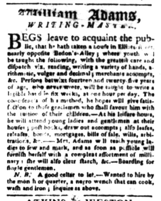 Jun 22 - South Carolina Gazette Slavery 6