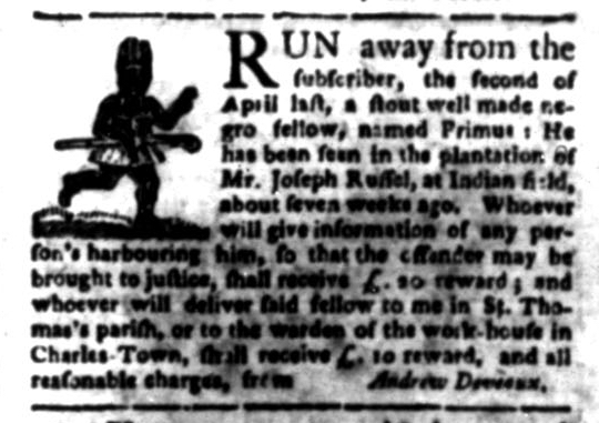 Jun 22 - South Carolina Gazette Slavery 7
